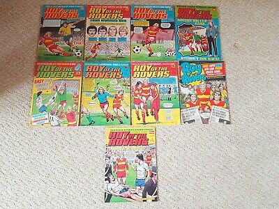 Vintage 1985 Roy Of The Rovers Comics Lot X 9 Issues • 17.99£