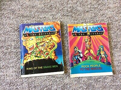 Masters Of The Universe Comic. 2 Languages.Rock People And King Of The Snake Men • 6.99£