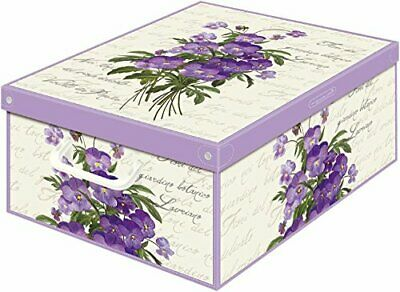 Box Collection Violets Scented 39X50X24CM Kanguru Bedding Items • 10.17£