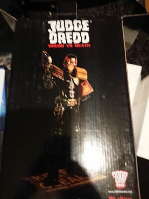 Judge Dredd Statue Dredd Vs Death Rare Rebellion 2000ad  • 75£