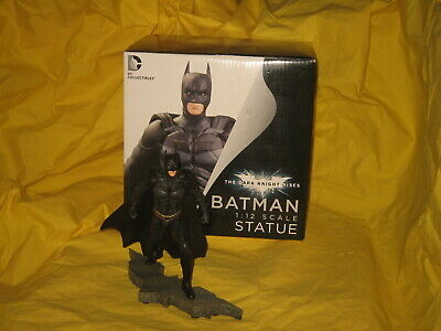 "DC Collectibles Batman Statue ""The Dark Knight Rises"" 1:12 Scale **Boxed** • 45£"