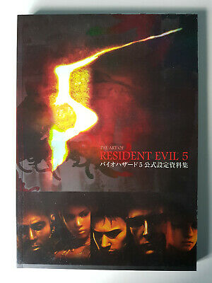 The Art Of Resident Evil 5 Videogame Artbook • 59.99£