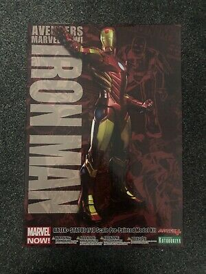 Avengers Collection IRON MAN - Authentic Kotobukiya Artfx Marvel • 60£