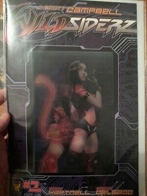 J Scott Campbell Wild Siderz Comic Issue Number 1 Lenticular Cover Rare • 9.99£
