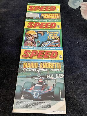 Speed Comic 3 Issues From May 1980 • 33£