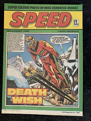 Speed Comic 3 Issues From August / June 1980 • 38£