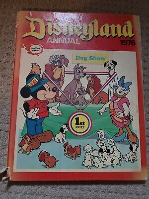 DISNEYLAND ANNUAL • 1976 • Fleetway Unclipped • 0.99£