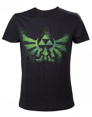 The Legend Of Zelda Green Zelda Triforce Logo T-Shirt • 17.35£