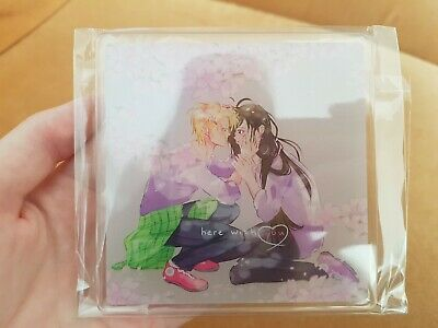 Banana Fish Anime Ash Lynx Yut Lung Acrylic Coaster Untersetzer • 7.14£