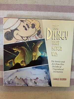The Disney That Never Was - Charles Solomon Artbook Storyboard Design • 31.76£