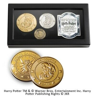 Harry Potter Replik Gringotts Bank Münzen-Set • 34.72£