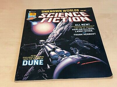 May 1975 No.3 Unknown Worlds Of Science Fiction (Stan Lee Presents) • 6.99£