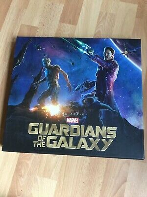 THE ART OF 'GUARDIANS OF THE GALAXY' Hardback With Slipcase (RARE) • 500£