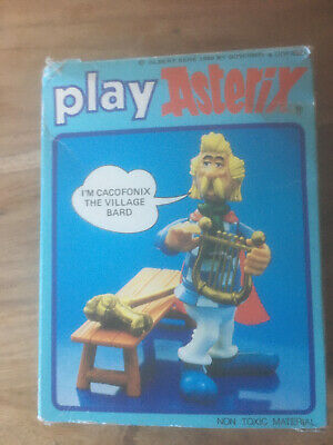 * Cacofonix - The Village Bard Asterix Figure 1980s Complete • 24.95£