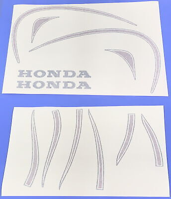 Honda XL250 Motosport 72-77 F&R Fenders + Fuel Tank Decals Stickers • 97.60£