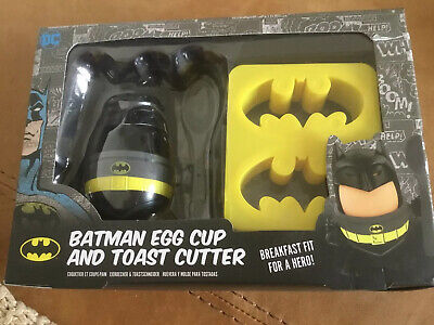 Batman Egg Cup And Toast Cutter • 0.99£