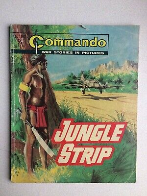 Commando, War Stories In Pictures, (jungle Strip), No.1183, From 1977. • 2.80£