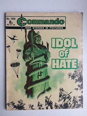 Commando, War Stories In Pictures, (idol Of Hate), No.1056, From 1976. • 3.65£