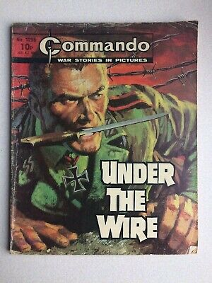 Commando, War Stories In Pictures, (under The Wire), No.1295, From 1979. • 3.75£