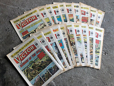 The Victor Comic 1969 X 20 Issues Various Dates. • 16£