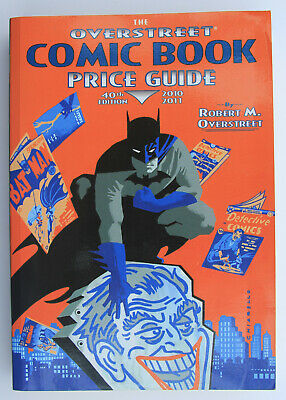 The Overstreet Comic Book Price Guide 40th Edition 2010/2011 Very Good Condition • 2£