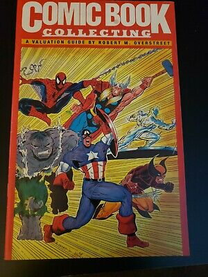 COMIC BOOK COLLECTING A Valuation Guide OVERSTREET 1991 ORIGINAL VALENTINO COVER • 4.03£