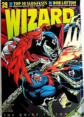 Wizard The Guide To Comics #39 November 1993   • 9.21£