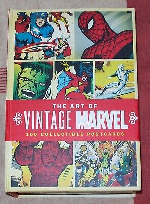 The Art Of Vintage Marvel - 100 Collectible Postcards In Box • 35£