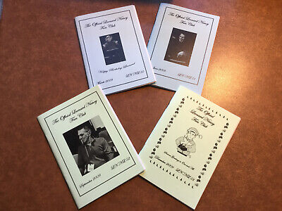 The Official Leonard Nimoy Fan Club  Newsletter's Issues 50-53 • 2£