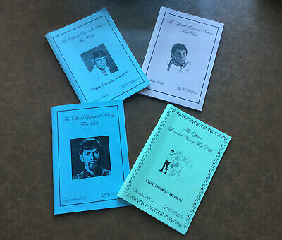 The Official Leonard Nimoy Fan Club  Newsleter's 38-41 • 2£