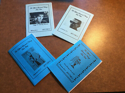 The Official Leonard Nimoy Fan Club Newsletter's Issues 58-61 • 2£
