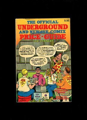The Official Underground & New Wave Comix Price Guide Jay Kennedy 1982 • 15£