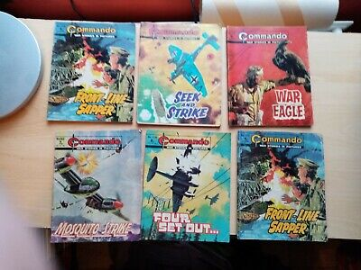 Commando Comics Collection Very Nice Good For Year Will Separate Offers Plz.  • 39.80£