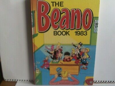 The Beano Book 1983.In Very Good Condition. • 3£