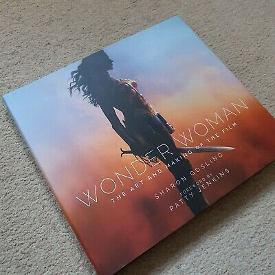 The Art And Making Of DC's Wonder-Woman Artbook Movies Film Titan Books • 28£