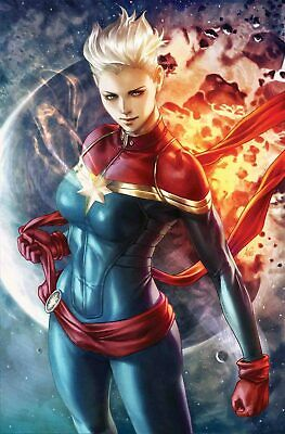 Life Of Captain Marvel Poster By Artgerm (24  X 36 ) Rolled/New [RP35] • 5.14£