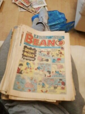 X 27 The Beano Comic Paper Magazine All Dated In 1983 Collectable Vintage Retro • 15£