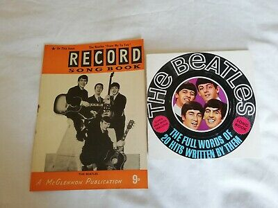 THE BEATLES 2X  MAGAZINE SONG BOOKS 1960s  • 1£