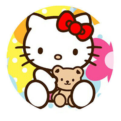 Hello Kitty Motiv  4 Button • 1.81£