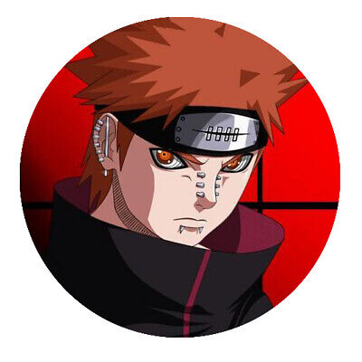 Naruto  Pein  Button • 1.81£