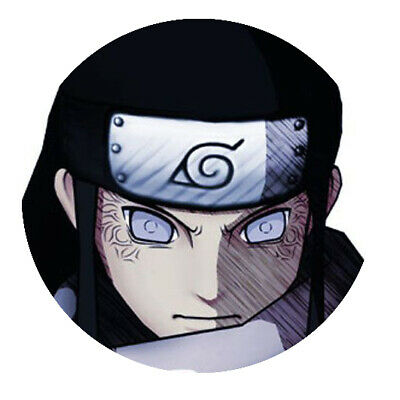 Naruto  Neji  Button • 1.81£