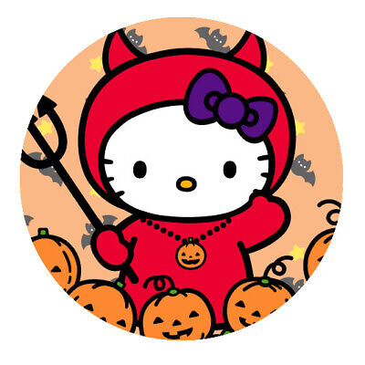 Hello Kitty Motiv  6 Button • 1.81£