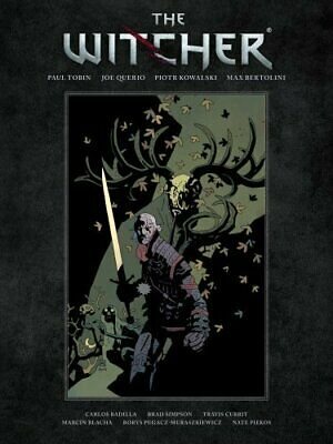 The Witcher Library Edition Volume 1 By Paul Tobin 9781506706825 | Brand New • 28.98£
