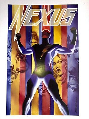 NEXUS Signed DC Comics Art Print / Poster By Steve Rude (2007) RARE ONE ONLY • 20£