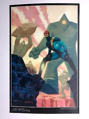 NEXUS Signed DC Comics Art Print / Poster  By Steve Rude RARE ONE ONLY • 20£