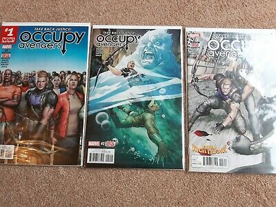 Occupy Avengers #1, 2 And 3 • 2.50£