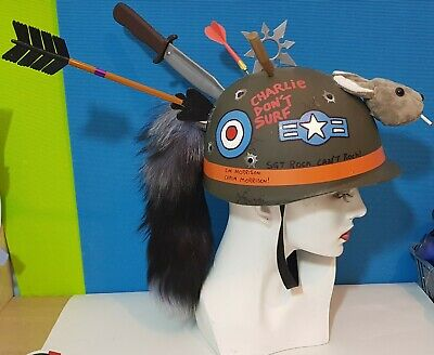 Custom Tank Girl Replica Full Size Helmet Adult Cosplay Kitbashed Fan Made OOAK • 64.99£