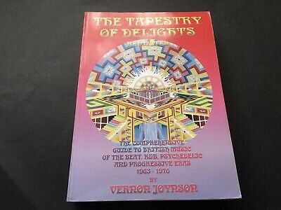 Vernon Joynson - Tapestry Of Delights, 2008, Revisited Guide To British Music • 19.95£