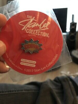Stan Lee Excelsior Enamel Pin Badge. New Sealed Rare! • 4.99£