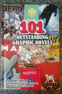 101 Outstanding Graphic Novels By Stephen Weiner, Hardcover • 6.95£
